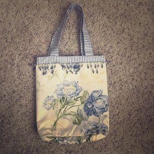 NWOT Handmade Embellished Tote Bag